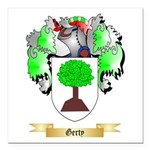 Gerty Square Car Magnet 3