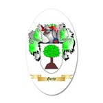 Gerty 20x12 Oval Wall Decal