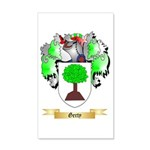 Gerty 20x12 Wall Decal
