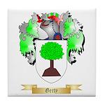 Gerty Tile Coaster