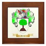 Gerty Framed Tile