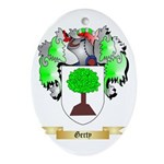 Gerty Ornament (Oval)
