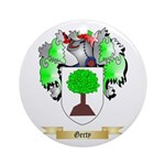 Gerty Ornament (Round)