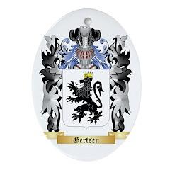 Gertsen Ornament (Oval)