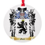 Gert Round Ornament