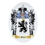 Gert Ornament (Oval)
