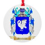 Gershman Round Ornament