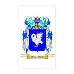Gerschfeld Sticker (Rectangle)
