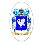 Gerschenfus Sticker (Oval 50 pk)