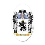 Gerritse Oval Car Magnet
