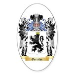 Gerritse Sticker (Oval 50 pk)