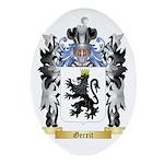 Gerrit Ornament (Oval)