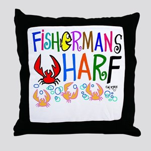 Fishy gift idea Throw Pillow
