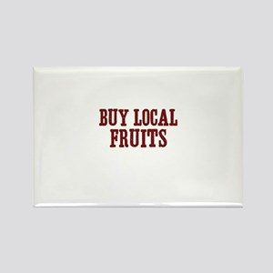 buy local fruits Rectangle Magnet