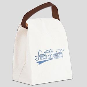 South Dakota State of Mine Canvas Lunch Bag