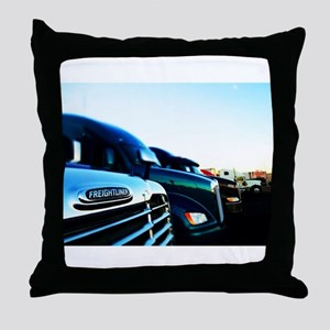 Freightliner 2 Throw Pillow