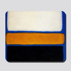 ROTHKO blue orange blank Mousepad