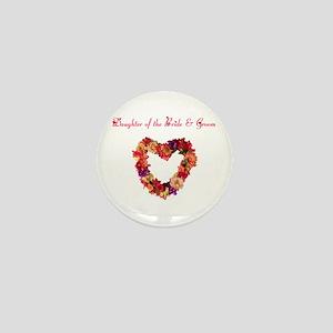 Daughter of the Bride & Groom Mini Button