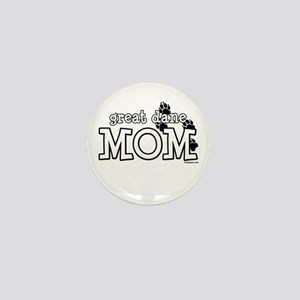 Great Dane Mom Mini Button