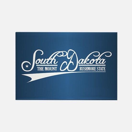 South Dakota State of Mine Magnets
