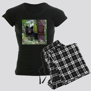 Baby Black Bear - Psalms 62-6 Pajamas