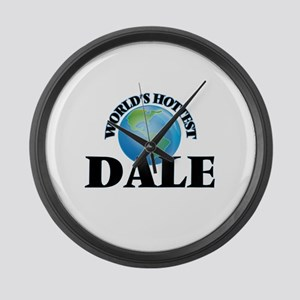 World's Hottest Dale Large Wall Clock