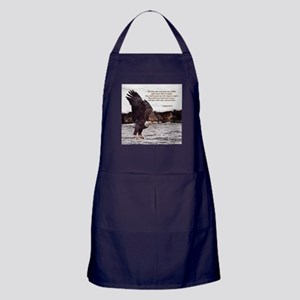 ISAIAH 40:31 WINGED EAGLES Apron (dark)