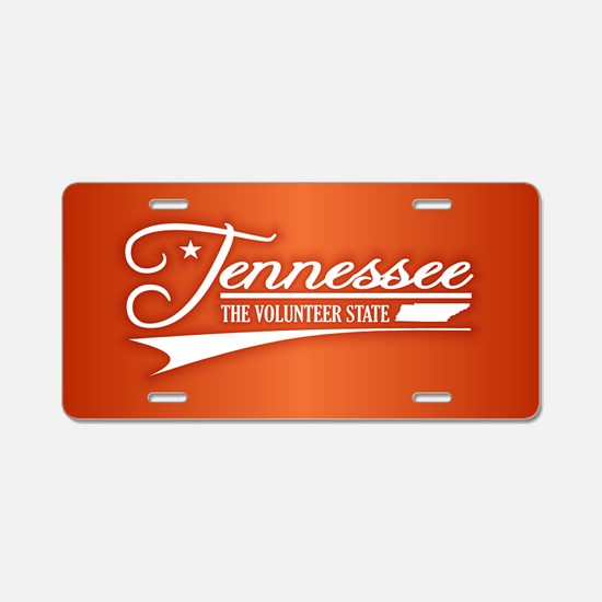 Tennessee State of Mine Aluminum License Plate