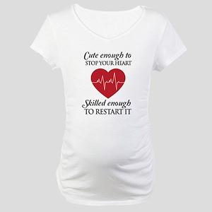 cute enough skilled enough Maternity T-Shirt