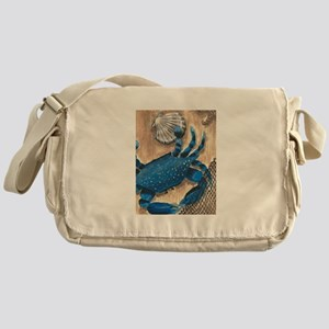 Crab and Scallop Messenger Bag