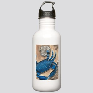 Crab and Scallop Water Bottle
