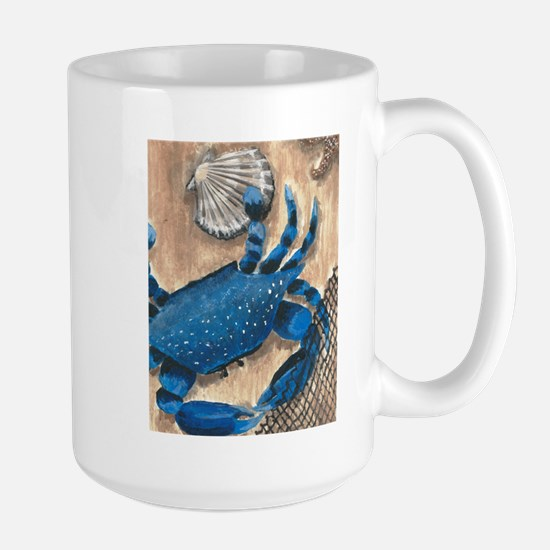 Crab and Scallop Mugs