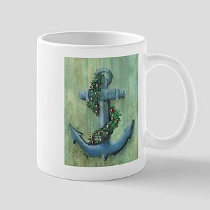 Anchor and Garland Mugs
