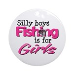 Silly Boys Ornament (Round)