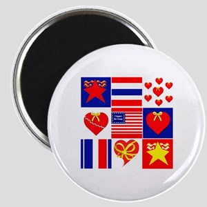 0001a patriot squared500 Magnets