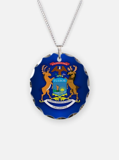 Michigan (v15b) Necklace
