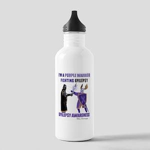 PURPLE WARRIOR Stainless Water Bottle 1.0L