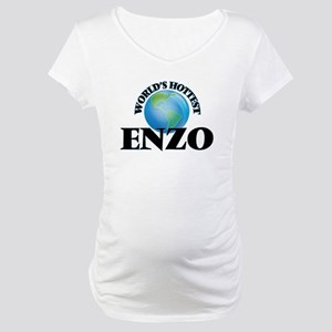 World's Hottest Enzo Maternity T-Shirt