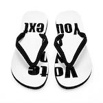 Customizable Vote No Flip Flops