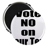 Customizable Vote No Magnets