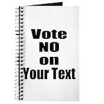 Customizable Vote No Journal