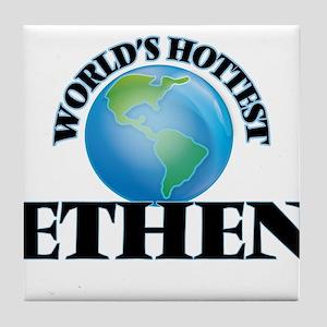World's Hottest Ethen Tile Coaster