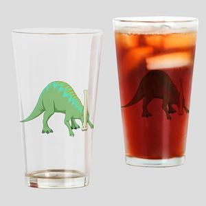 Parasaurolophus Drinking Glass