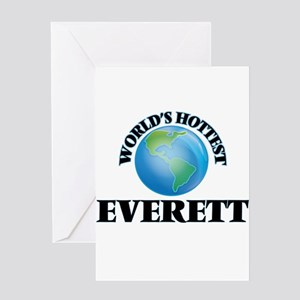 World's Hottest Everett Greeting Cards