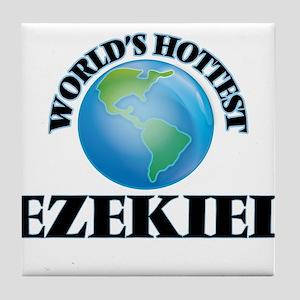 World's Hottest Ezekiel Tile Coaster