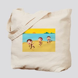 cheeky monkeys Tote Bag