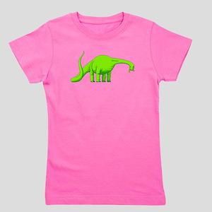 Brachiosaurus Girl's Tee