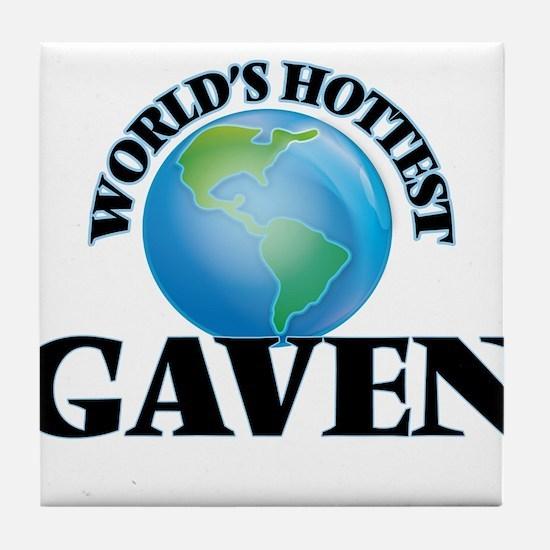 World's Hottest Gaven Tile Coaster