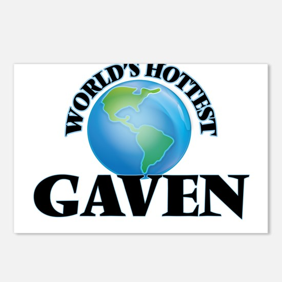 World's Hottest Gaven Postcards (Package of 8)