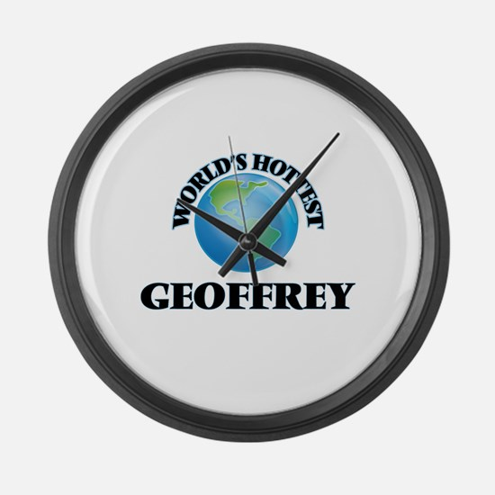 World's Hottest Geoffrey Large Wall Clock